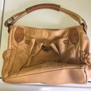 Handbags - Leather short handle bag